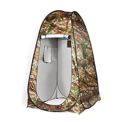 Water-chestnut Shower Tent Beach Fishing Shower Outdoor Camping Toilet Tent,Changing Room Shower Tent with Carrying Bag