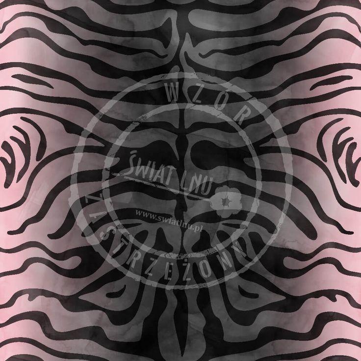 Druk na tkaninach naturalnych: len, bawełna, wiskoza. Autorska kolekcja wzorów jedyna i niepowtarzalna. Zatop się w głębi kolorów. Pracownia Druku - drukujemy również na Twoich tkaninach.  #pracowniadruku #tkaniny #wzory   Wzór Tygrys Syberyjski  Painted TIGER pattern
