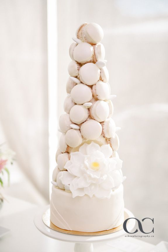 Croquembouche make for unique desserts for all events. Traditionally filled with vanilla, chocolate or coffee cream, you can also have other more fruity flavours! #yannpins #choux