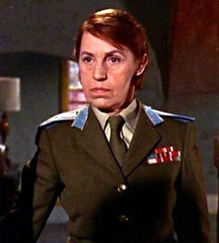 Rosa Klebb (Villain) - From Russia with Love - played by Lotte Lenya (1898-1981)