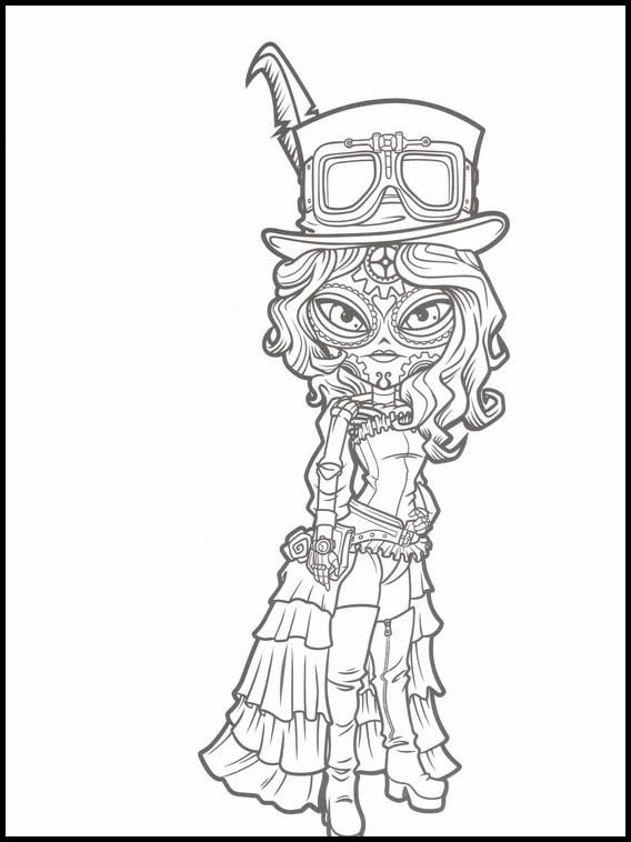- Catrinas Underworld 15 Printable Coloring Pages For Kids In 2020 Coloring  Pages For Kids, Coloring Books, Coloring Pages