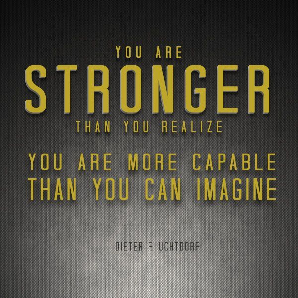 "Short Imagine Quotes: ""Stand Tall And Walk In The Light … You Are Stronger Than"