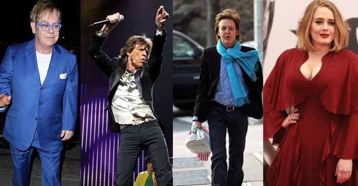 Sunday Times Rich List 2017 UK's top 20  Musicians
