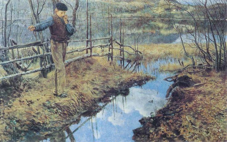 Erik Theodor Werenskiold, né le 11 février 1855 à Kongsvinger, près d'Eidskog en Norvège et mort le 23 novembre 1938 à Oslo, est un peintre, dessinateur norvégien, spécialement connu pour ses illustrations de contes et de légendes.