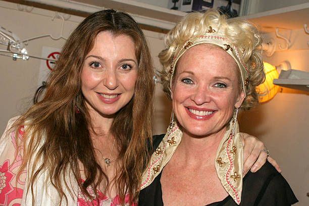 Donna Murphy and Christine Ebersole during 'Steel Magnolias' Final Performance on Broadway Benefiting The Actors Fund of America at The Lyceum...