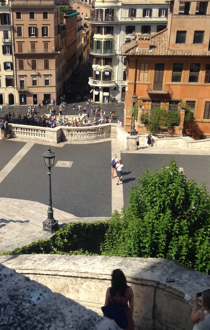 Spanish steps, day 5.