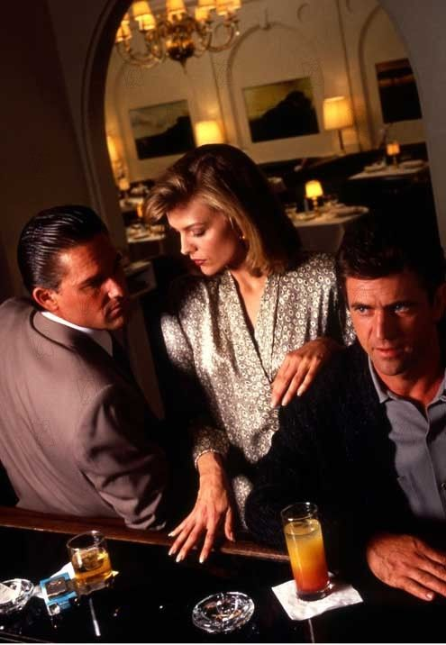 Tequila Sunrise 1988 Mel Gibson, Kurt Russell and Michelle Pfeiffer One of my all time favorites!!!