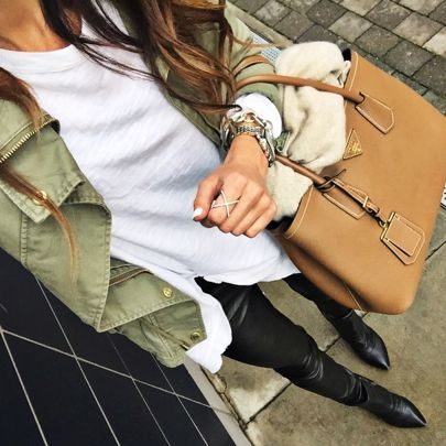 #flashback // Everything [except the bag & accessories] from this look I wore back in April is currently up to 30% off! Shop it all here: http://liketk.it/2pmVt via @liketoknow.it #liketkit #whatiwore #ltksalealert #fallstyle #fallfashion #basic #neutrals • Some items require a code at checkout: MAINEVENT16