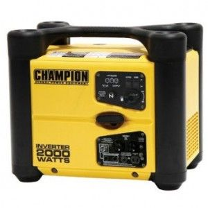 Portable Generator Reviews : Champion 73536i 2000 Watt Portable Generator