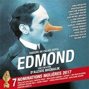 Edmond Théâtre du Palais Royal Affiche
