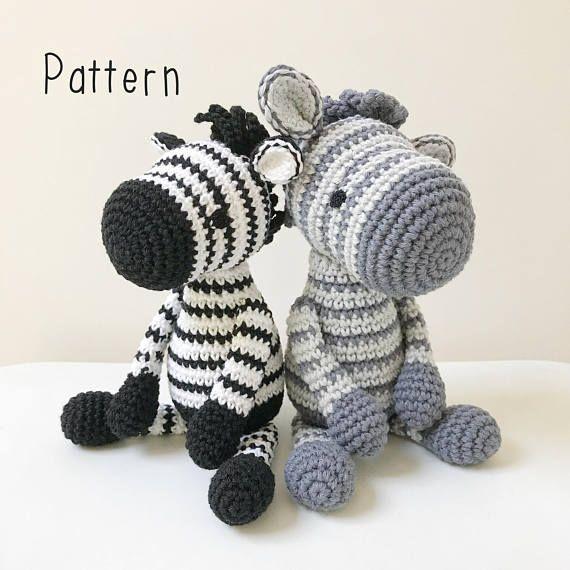 Amigurumi Zebra Ideias em 2020 | Zebra de crochê, Brinquedos de ... | 570x570