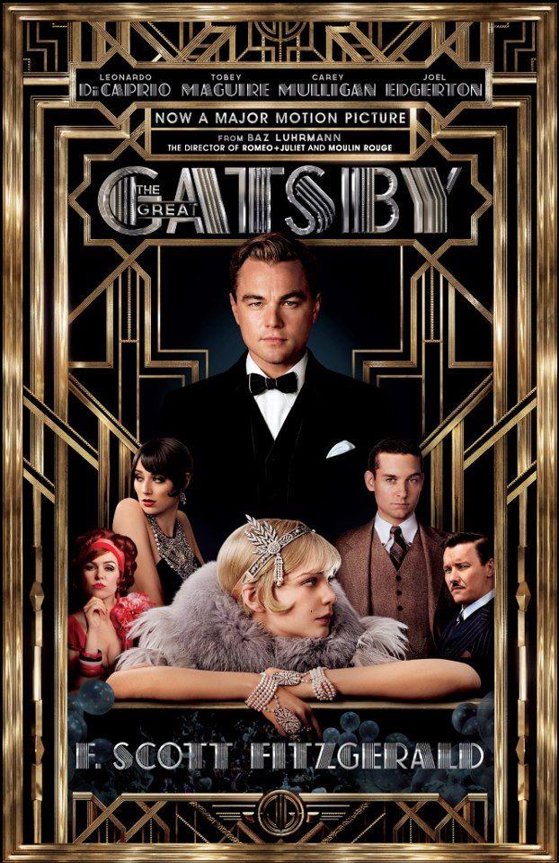 """O cartaz oficial do filme """"O grande Gatsby"""", de Baz Luhrmann, que vai abrir o Festival de Cannes 2013."""