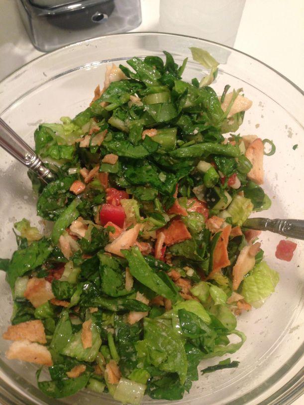Green Jacket Salad!  Similar to the Masters Salad!