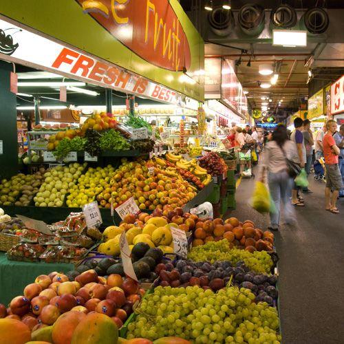 'Australia's Cities - News & Media - Tourism Australia' said the source • Adelaide Central Market • Adelaide's icons • riawati