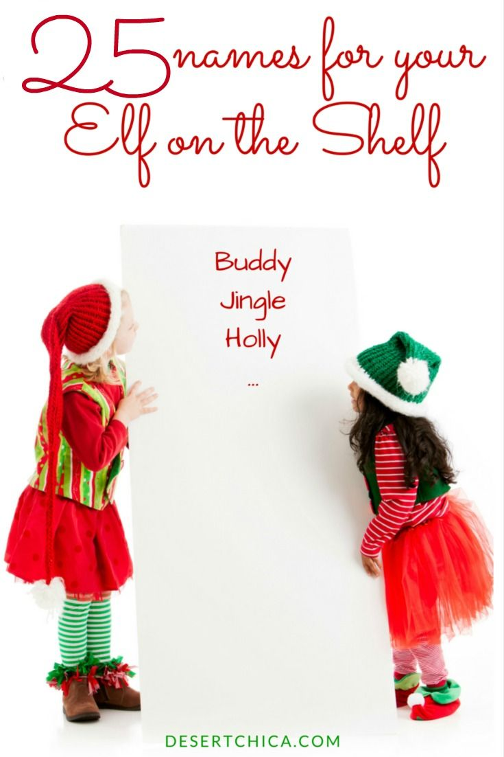 25 good, bad and ridiculous elf on the shelf names | What will you name your elf on the shelf this year?