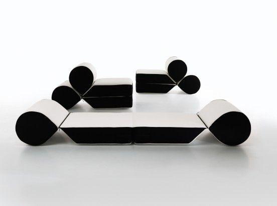 'Drop' seat/daybed | Leonardo Perugi for Cerruti Baleri