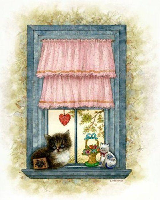 все милая картинка окно для маленькой