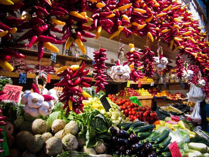Le grand marché couvert de Budapest - Budapest Voyage