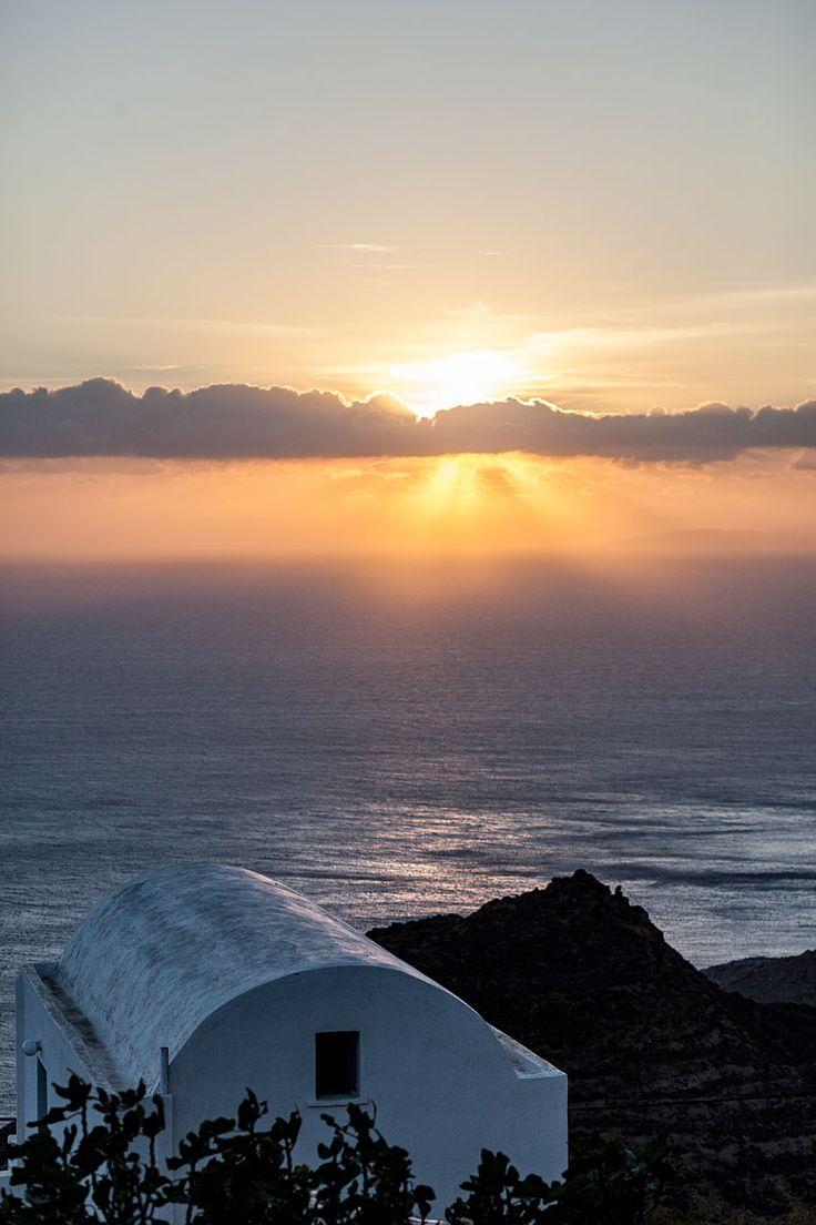 Hora sunset, Anafi