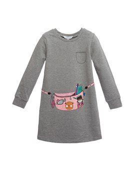 LITTLE MARC JACOBS Girls Grey Jersey Sweat Dress. Shop here: http://www.tilltwelve.com/en/eur/product/1078794/LITTLE-MARC-JACOBS-Girls-Grey-Jersey-Sweat-Dress/