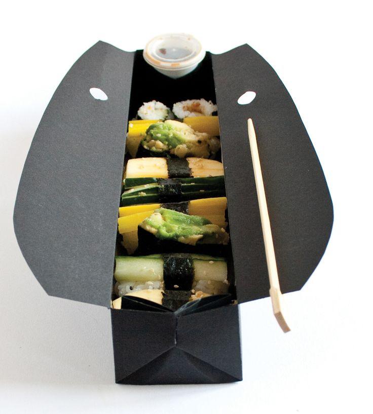 ÑAM ÑAM01 Sushi Bar, Sushi Packaging, Sauces Chopsticks, Sushi Boxes, Sushi Boats, Packaging Design, Soya Sauces, Packaging Sushi, Boxes Incl
