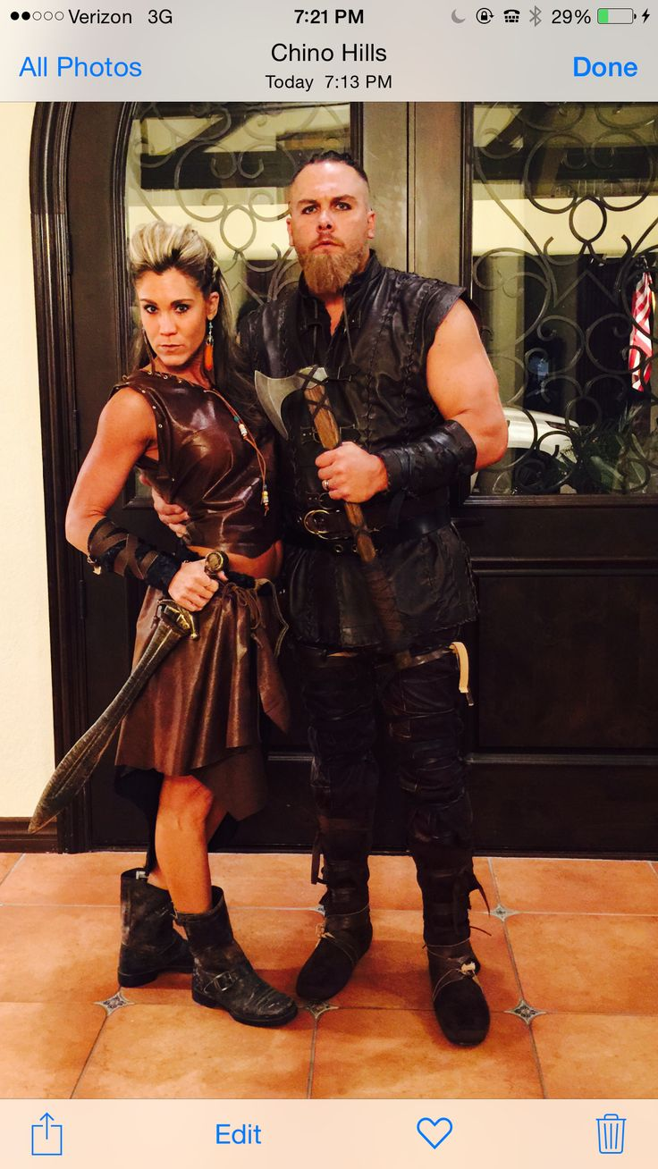 Vikings couples costume