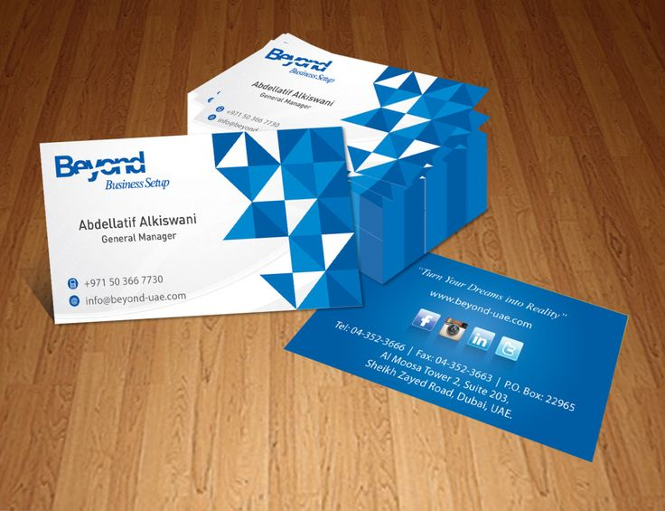 30 best business cards images on pinterest advertising business business card dubai contact us 971 4 320 5511 reheart Gallery
