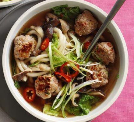 Cantonese Spiced Pork Meatball Soup Recipe — Dishmaps
