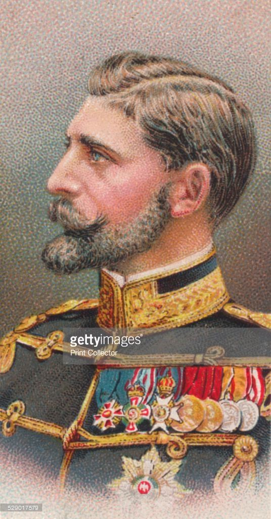 Ferdinand I (1865-1927), King of Romania, 1917. From Will's Cigarettes 'Allied Army Leaders' cigarette card series, 1917.