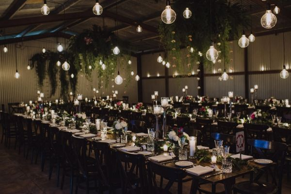 Byron Bay Wedding With Hanging Lights | The Follans Photography
