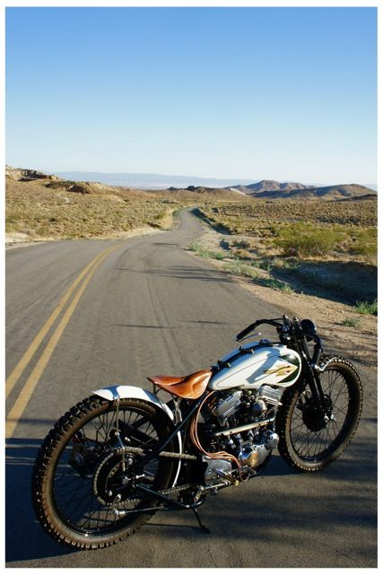 Bobber Inspiration | Harley tracker | Bobbers and Custom Motorcycles | myfortyeight July 2014