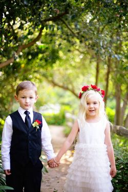 Wedding advice from kids. Gotta read it!  :)  These are some smart lil cookies