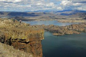 Steamboat Rock State Park, Grand Coulee, WA