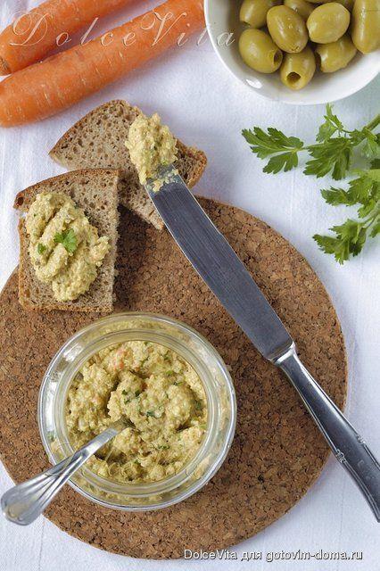 Тапенад - паштет из оливок или маслин