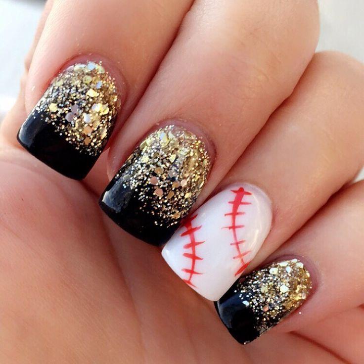 Baseball nails ⚾️ #Pittsburgh #Pirates
