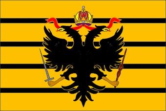 Francesco II dotò la Toscana, prima dell'impero, anche di un'insegna mercantile, derivata da quella imperiale con l'aggiunta di quattro strisce nere.