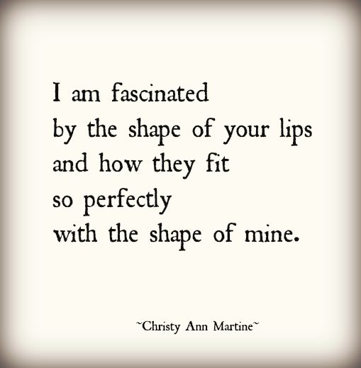 kissing poems quotes