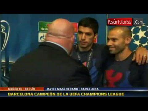 #20142015 #barcelona #campeón #champions #de #entrevista #FCBarcelona(FootballTeam) #interrumpe #JavierMascherano(FootballPlayer) #la #league #luis #LuisSuárez(FootballPlayer) #Mascherano #suarez #UEFAChampionsLeague(FootballCompetition) Luis Suarez Interrumpe entrevista de Mascherano • Barcelona Campeón de la Champions League 20142015