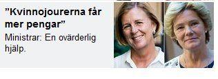 Ministrarna Maria Arnholm (FP) och Maria Larsson (KD) ser inte kvinnors relationsvåld | Ann-Mari's Blogg