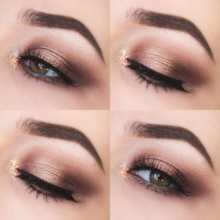 Glittery Autumn Eyes // Too Faced Chocolate Bar Palette Look.