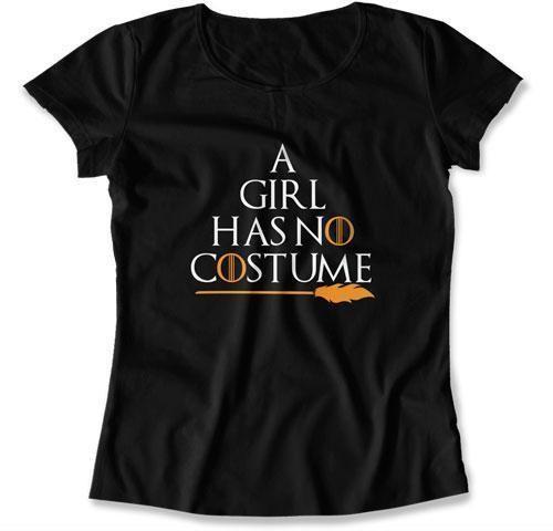 4ce07e4a LADIES - A Girl Has No Costume - TEP-22 Pregnant Halloween, Halloween Shirt