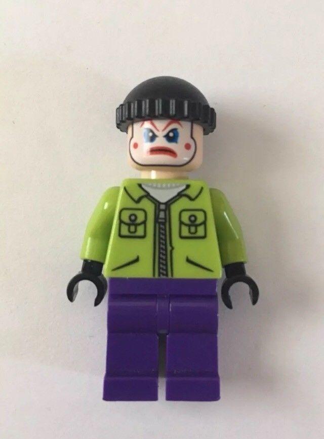 Lego Minifigure Clown face with Mohawk