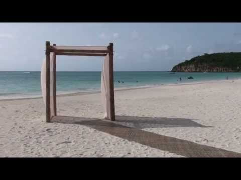 Sandals Grande Antigua Beach Wedding by Lynn at Alpha Travel 919.467.5020 - YouTube