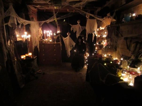 Halloween Spooky Garage Holiday Pinterest Halloween