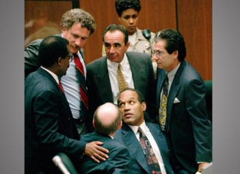 OJ-Simpson's-Dream-Team. CRIMELINE: O.J. SIMPSON