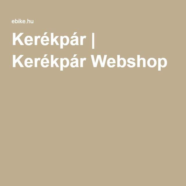 Kerékpár | Kerékpár Webshop
