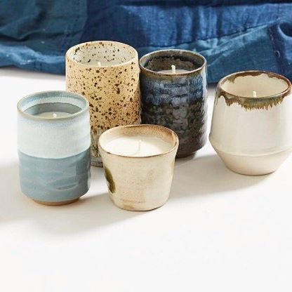 SLOW MADE | Collection of Provider Store handmade candles we have in store, designed to be used as a tea cup, mug or vase once the candle has burnt out.  #mothersday #homewares #slowmade #handmade #ceramics #soycandle #providerstore #organic #tathrabeachdesigns #tathra | Pic courtesy @theproviderstore