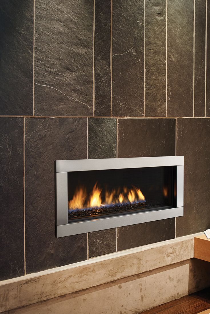 23 best contemporary gas fireplaces images on pinterest for Contemporary fireplace insert