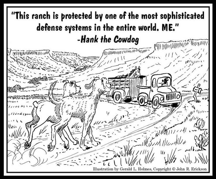 7 best Hank the Cowdog Illustrations images on Pinterest