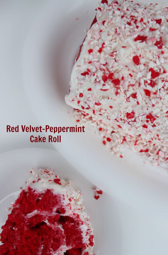 Spread some holiday cheers by offering this sweet treat as an alternative to traditional holiday cake for those who want something a bit different. Try this delicious Red Velvet-Peppermint Jelly Roll Cake.